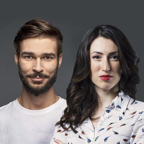 Анастасия Олейник и Евгений Кагарлицкий