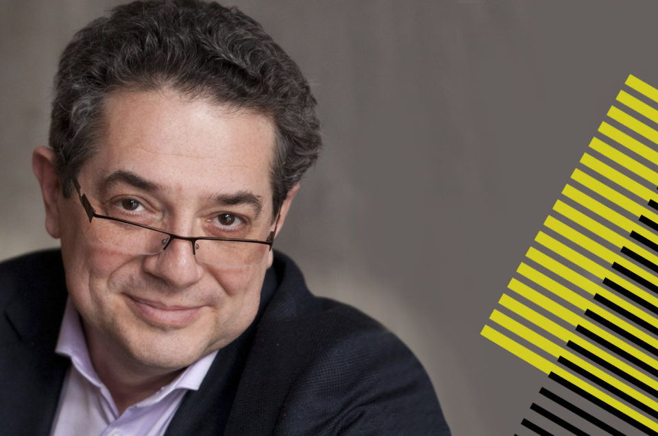 Михаил Дымшиц — докладчик Out Of Home Forum '18