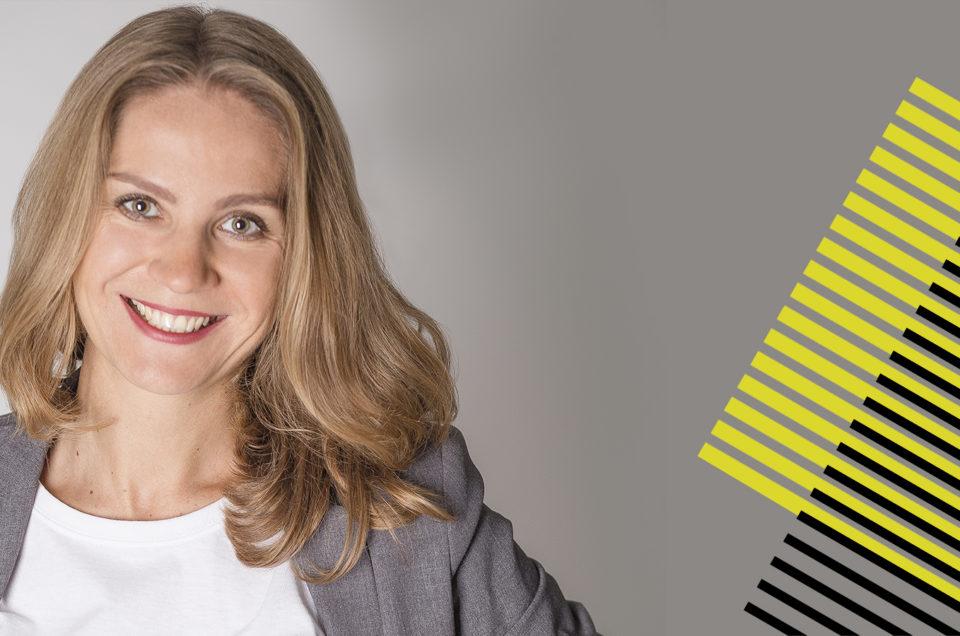 Алина Котенко — докладчик Out Of Home Forum '18